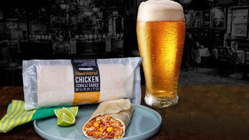 Invisible Chef Burrito for Pubs